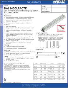 bal1400lpactd - Howard Lighting
