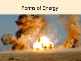 1.2 Energy Forms