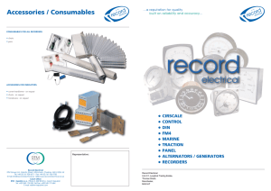 Record products - Record Electrical