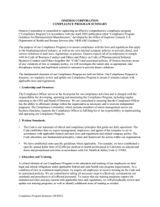a PDF copy of the Compliance Program Summary