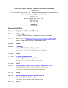 Agenda - Federal Reserve Bank of New York