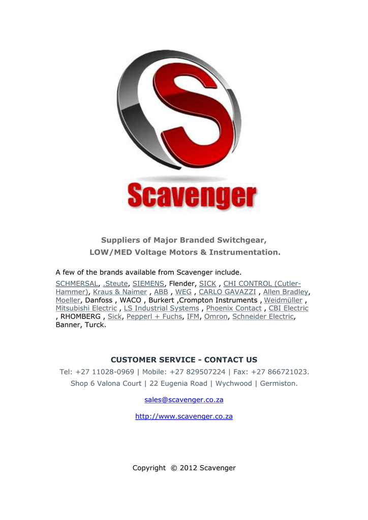 suppliers of major branded switchgear, low medGt Weg Electric Miniature Contactors 3pole Gt 7 Amp Ac3 Gt Ecc0r #9