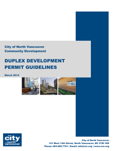 Duplex Development Permit Guidelines