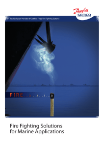 SEM-SAFE® Fire Fighting Solutions for Marine Applications