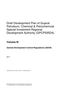 General Development Control Regulations
