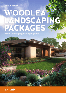 Front Landscaping Package Options