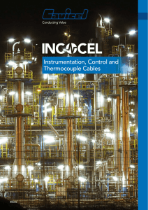 Instrumentation, Control and Thermocouple Cables