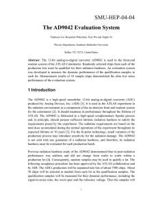 The AD9042 Evaluation System