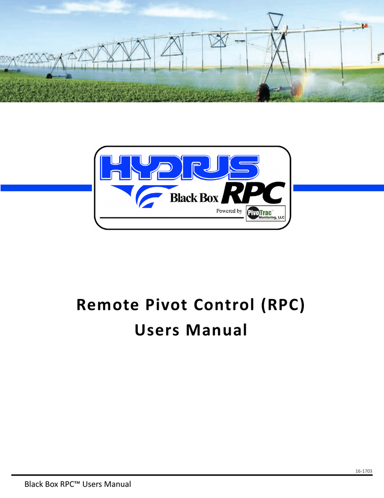 remote pivot control rpc users manual rh studylib net Electrical Wiring Diagrams Electrical Schematics For Dummies