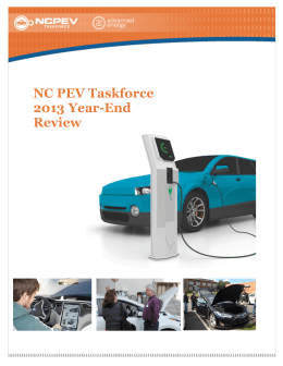 "NC PEV Taskforce`s ""News"