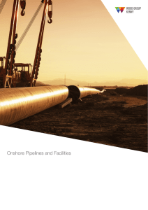 Onshore Pipelines and Facilities