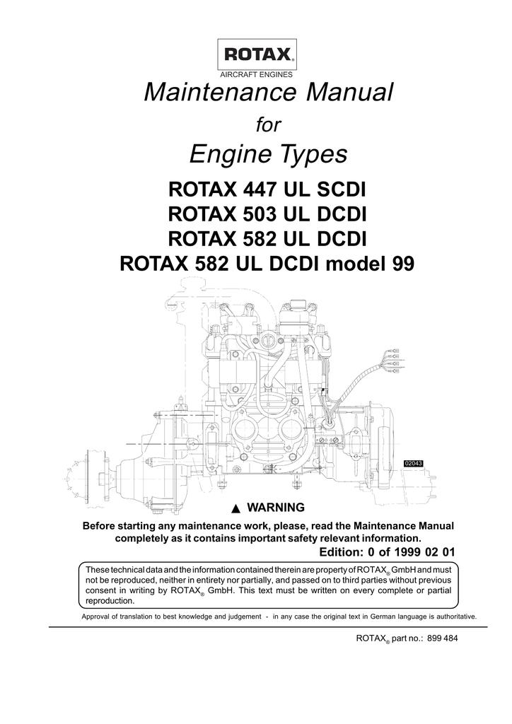 AIRCRAFT ENGINES Maintenance Manual