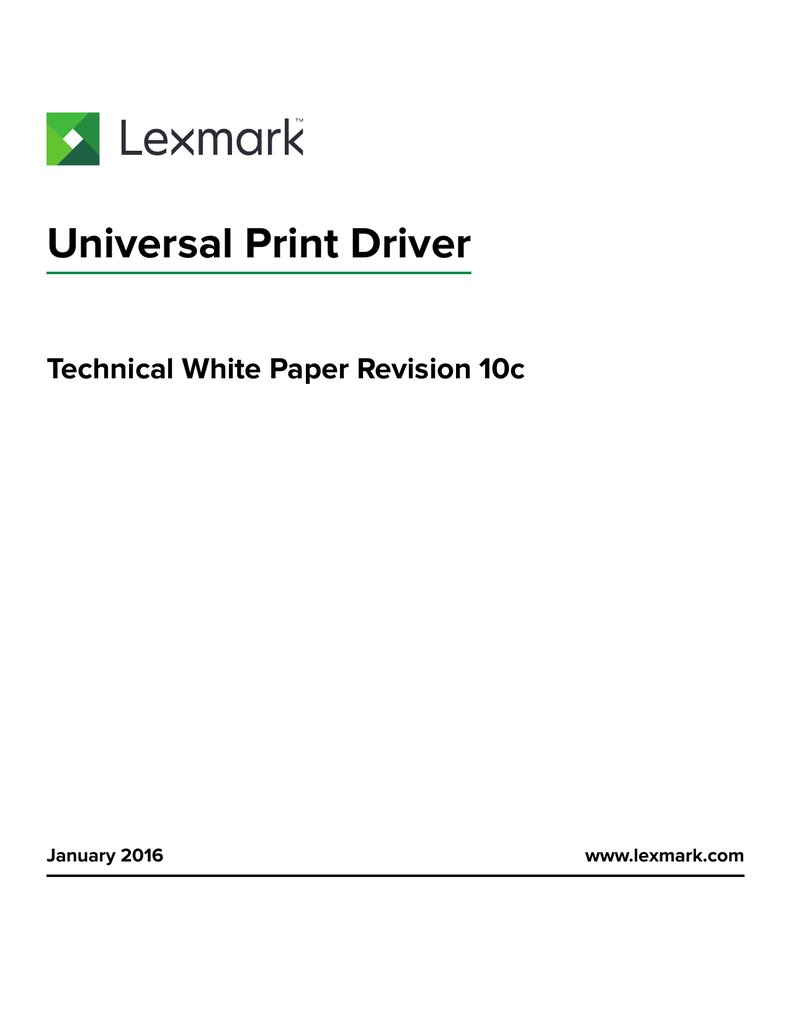 LEXMARK C762 PRINTER UNIVERSAL PCL5E WINDOWS 10 DRIVERS DOWNLOAD