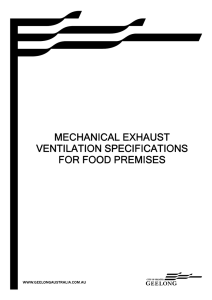 Mechanical Exhaust System Specifications
