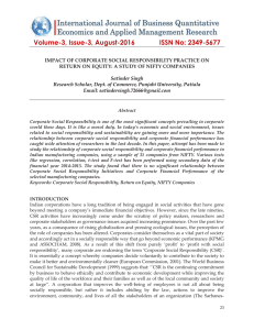 Volume-3, Issue-3, August-2016 ISSN No: 2349-5677