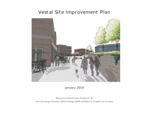 Vestal Site Improvement Plan - Knoxville