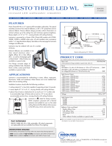 Spec Sheet - Edison Price Lighting