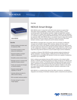 NEXUS Smart Bridge