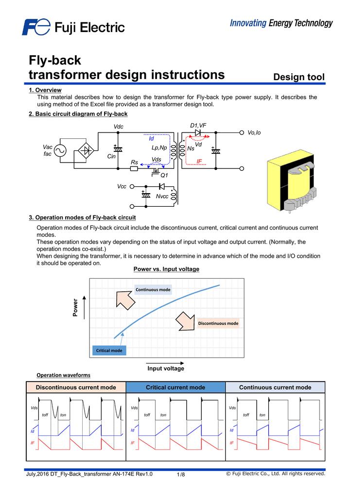 flyback transformer wiring diagram fly back transformer design instructions  fly back transformer design instructions