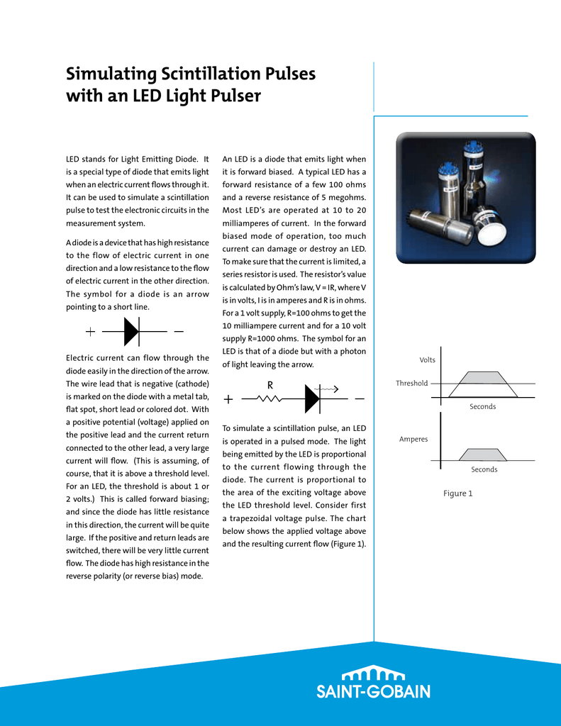 Simulating Scintillation Pulses With An Led Light Pulser System Circuit 018889741 1 2794407b56a0a5cb1223a27d613016c4