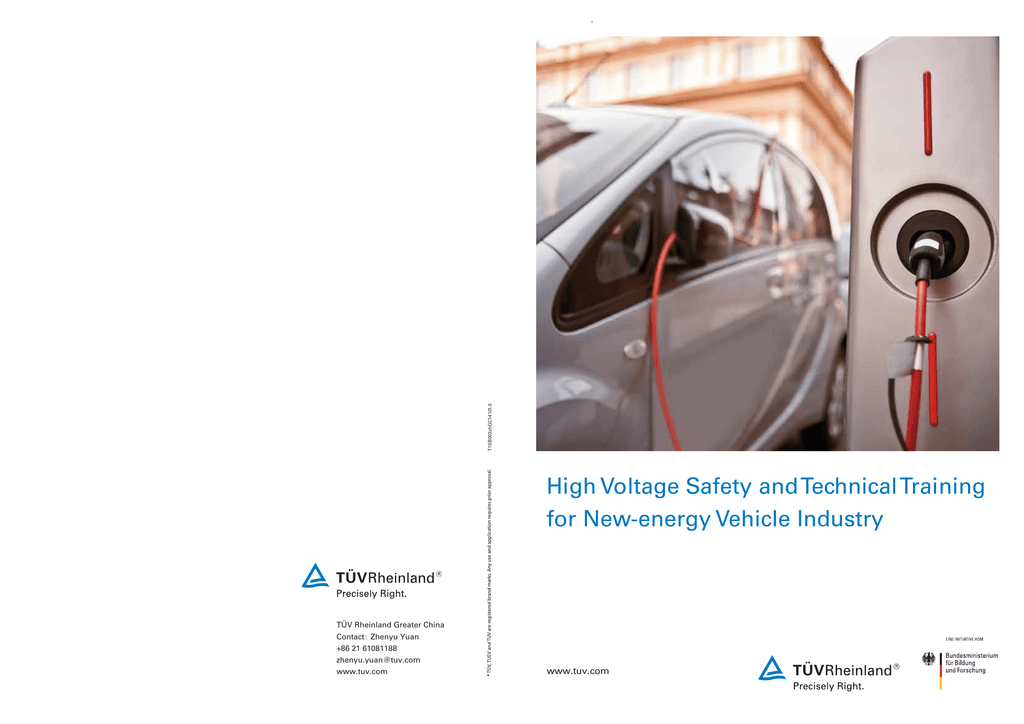 High Voltage Safety and Technical Training for New-energy