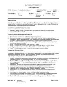 Engineer-Principal Electrical Systems