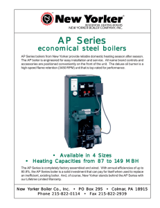 Economical Steel boilers