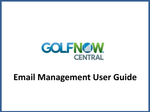 - GolfNow Solutions