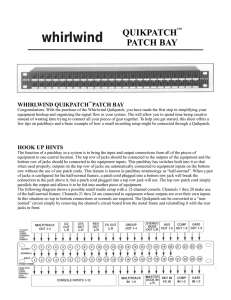 WPB48S Manual - Pre 2001 Style