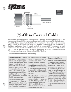 75-Ohm Coaxial Cable - ResidentialSystems.com