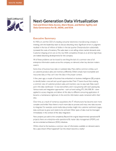 Next-Generation Data Virtualization
