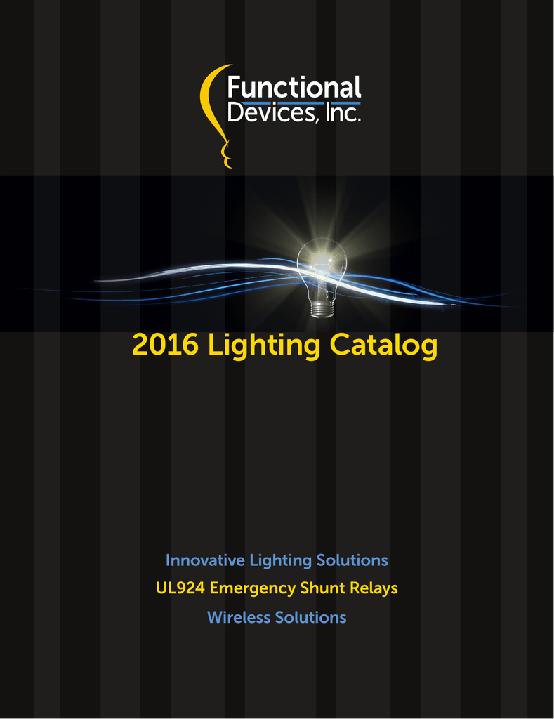 The 2016 Lighting Controls Catalog 208 Single Phase Wiring Diagram Hp S Fixture