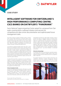 "cscs banks on datwyler`s ""panorama"""