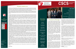 CSCS 2013 Fall Newsletter - Canadian Cardiovascular Society
