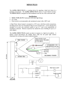 Visio-MINI-P PLUS INSTRUCTIONS.vsd