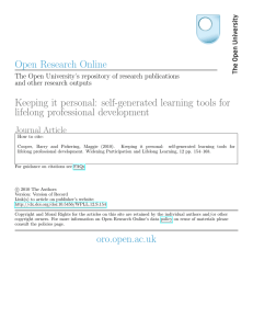 - Open Research Online