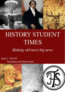 History Student Times October 2014