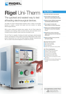 Rigel Uni-Therm