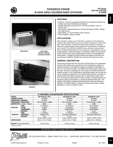 indoor/outdoor 8-ohm mini-loudspeaker systems