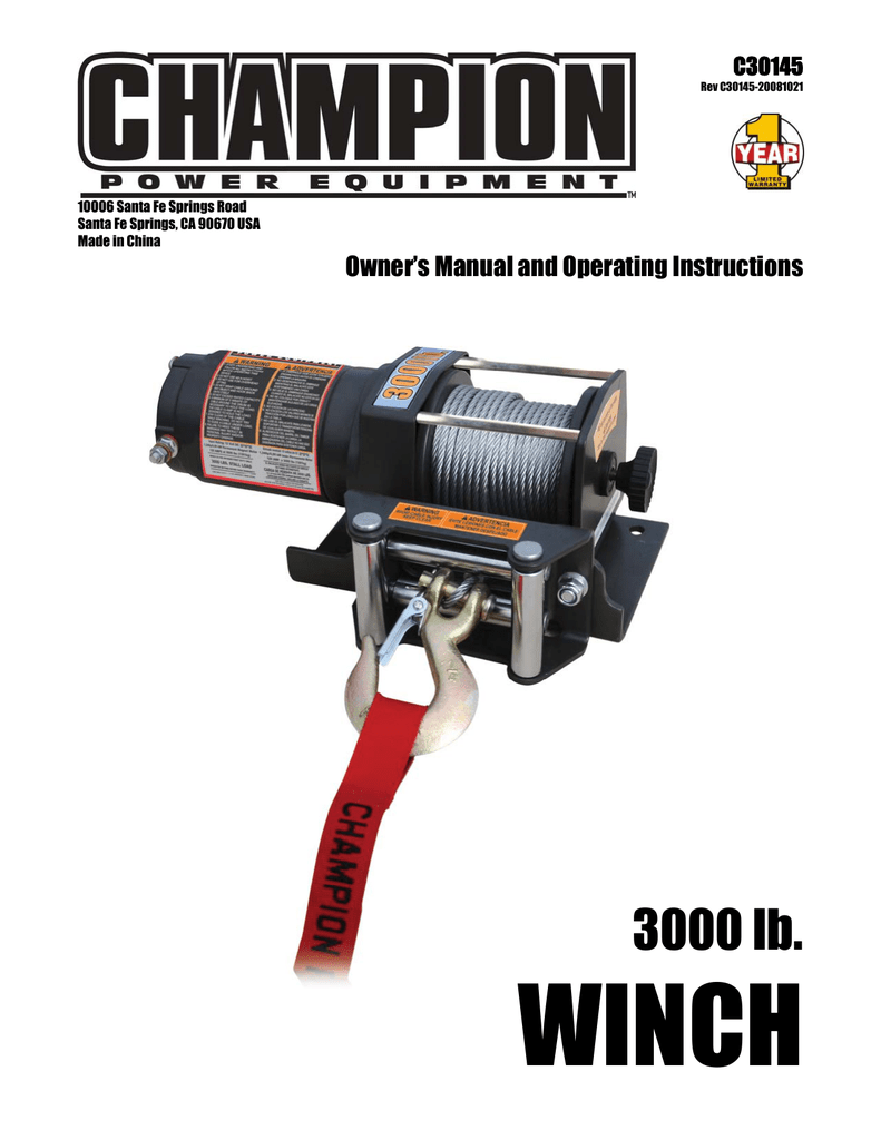 Winch 3000 Lbs Tractor Supply Harbor Freight Camo Atv Wiring Diagram 791x1024