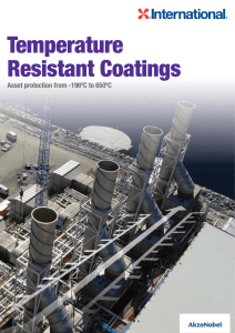 Temperature Resistant Coatings - Protective Coatings | International