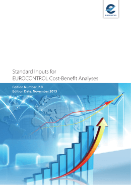 Standard Inputs for EUROCONTROL Cost Benefit Analyses
