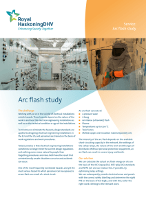Arc flash study - Royal HaskoningDHV