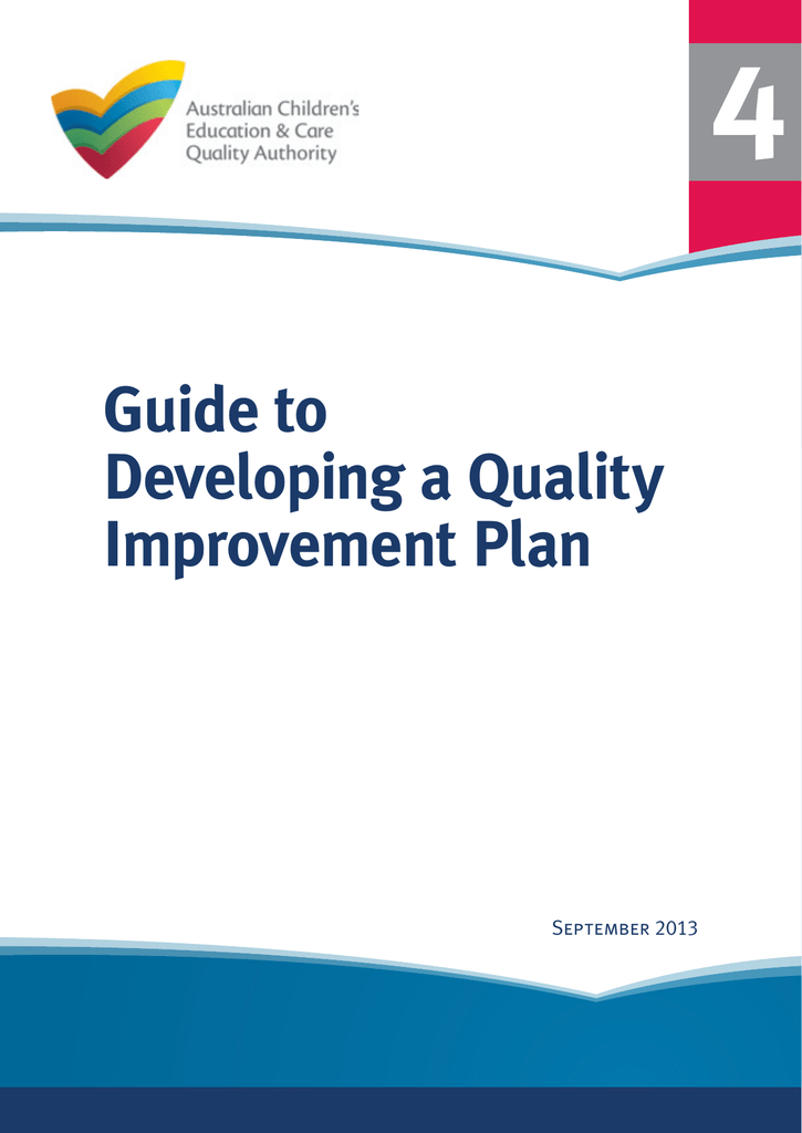 Guide to Developing a QIP