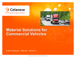 Material Solutions for Commercial Vehicles