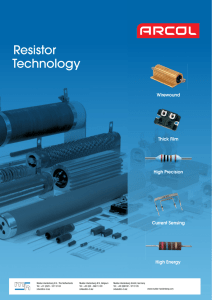 Resistor Technology - Engineering components