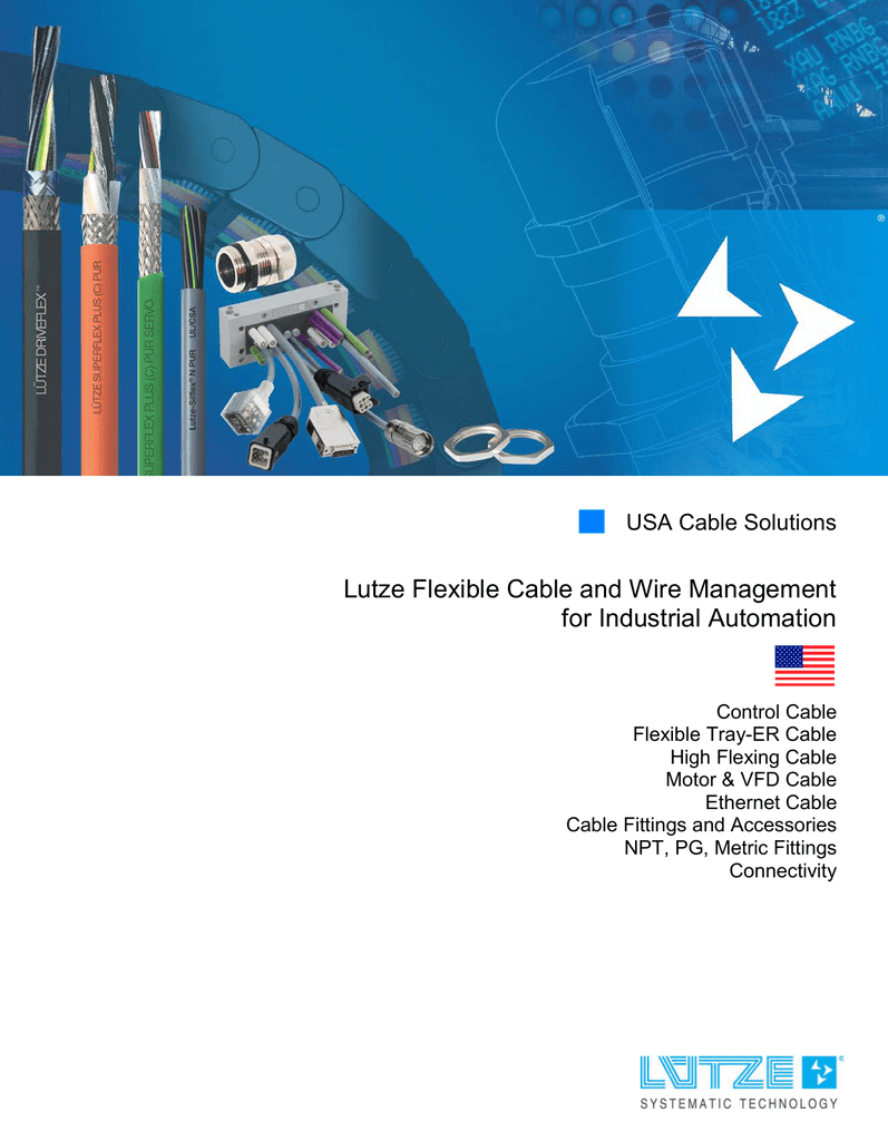 Lutze Flexible Cable and Wire Management for Industrial
