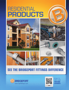 PRODUCTS - Bridgeport Fittings