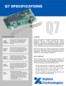 Q7 Product Information