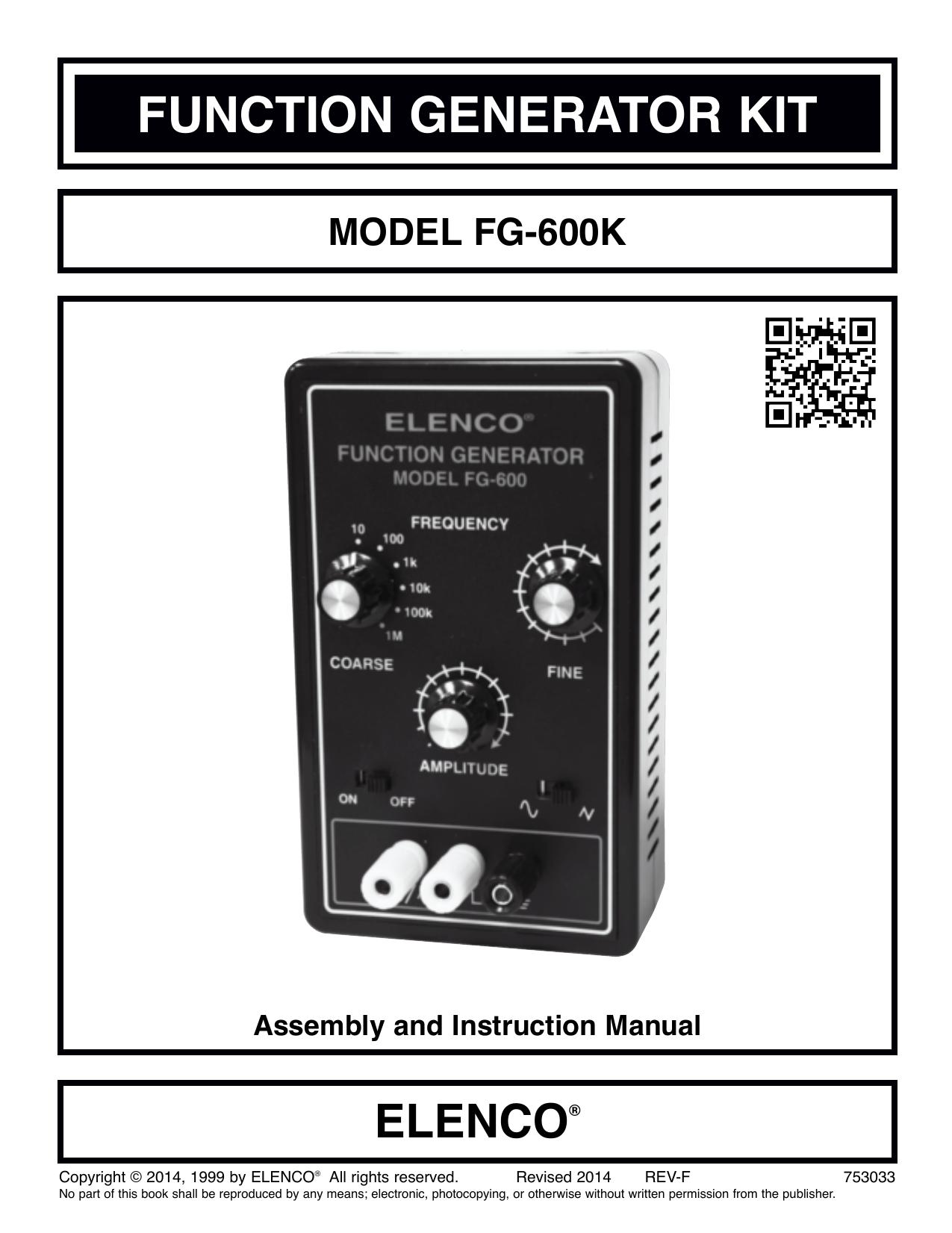 Function Generator Kit Two Ic Am Radio With Training Course Model Am780k Electronic 018904457 1 B587db10fe16818627821c55dedaf1e4